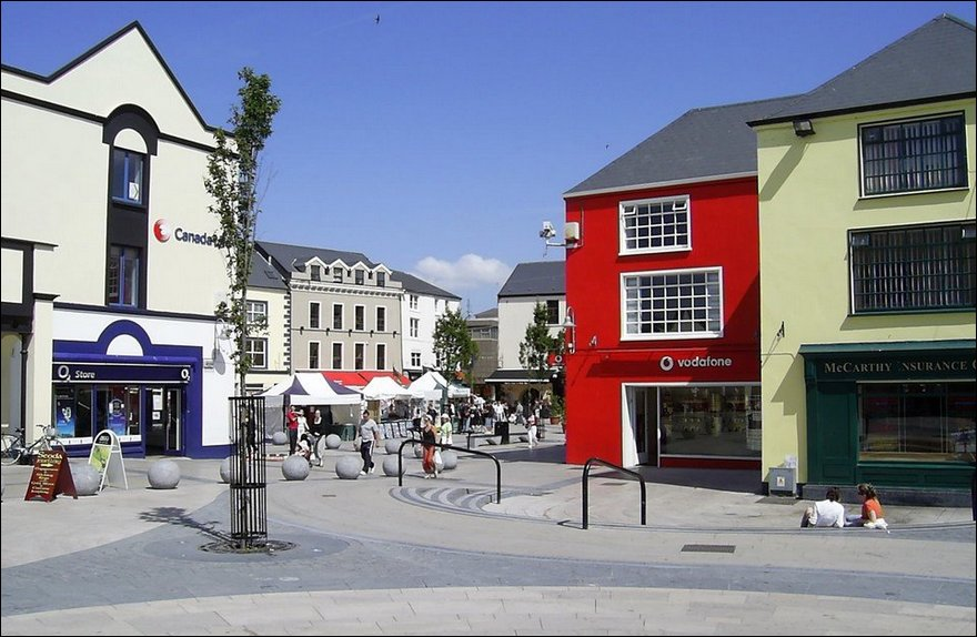 Tralee, The square